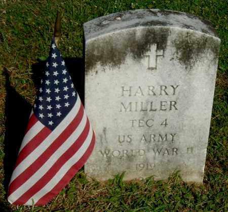MILLER, HARRY - Gallia County, Ohio | HARRY MILLER - Ohio Gravestone Photos