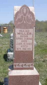 MILLER, ISAAC - Gallia County, Ohio | ISAAC MILLER - Ohio Gravestone Photos
