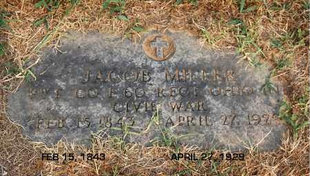 MILLER, JACOB - Gallia County, Ohio   JACOB MILLER - Ohio Gravestone Photos