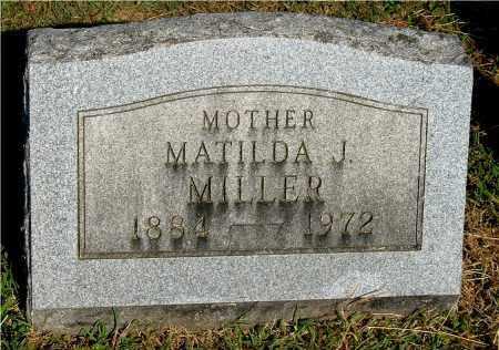 KINSER MILLER, MATILDA J - Gallia County, Ohio   MATILDA J KINSER MILLER - Ohio Gravestone Photos