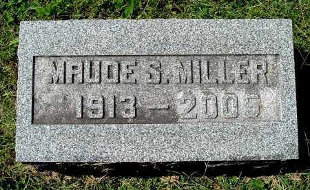MILLER, MAUDE S - Gallia County, Ohio   MAUDE S MILLER - Ohio Gravestone Photos