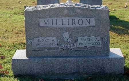MILLIRON, MARIE A. - Gallia County, Ohio | MARIE A. MILLIRON - Ohio Gravestone Photos