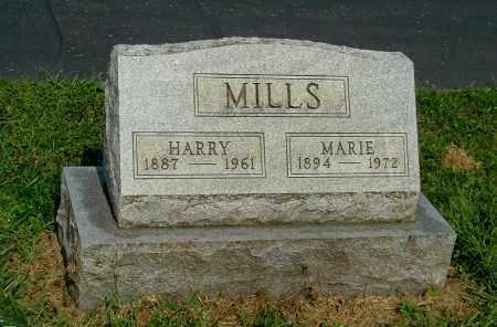 MILLS, HARRY - Gallia County, Ohio | HARRY MILLS - Ohio Gravestone Photos