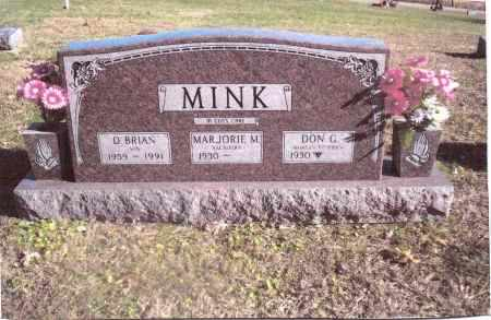 MINK, DON G. - Gallia County, Ohio | DON G. MINK - Ohio Gravestone Photos