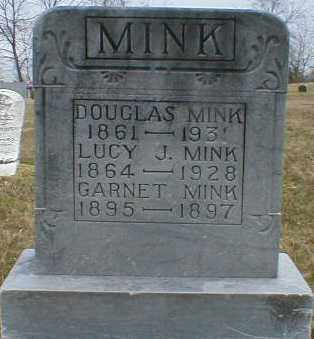 MINK, LUCY - Gallia County, Ohio | LUCY MINK - Ohio Gravestone Photos