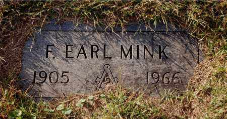 MINK, F. EARL - Gallia County, Ohio | F. EARL MINK - Ohio Gravestone Photos
