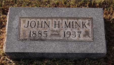 MINK, JOHN H - Gallia County, Ohio   JOHN H MINK - Ohio Gravestone Photos