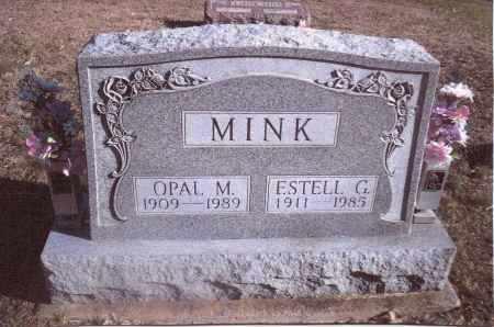 MINK, OPAL M. - Gallia County, Ohio | OPAL M. MINK - Ohio Gravestone Photos