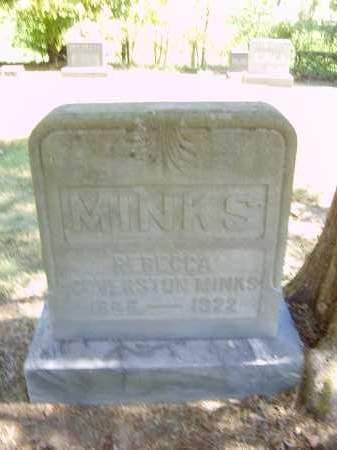 COVERSTON MINKS, REBECCA - Gallia County, Ohio | REBECCA COVERSTON MINKS - Ohio Gravestone Photos