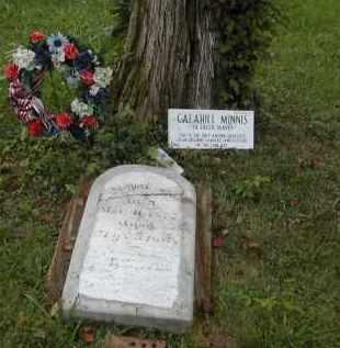 MINNIS, CALAHILL - Gallia County, Ohio   CALAHILL MINNIS - Ohio Gravestone Photos
