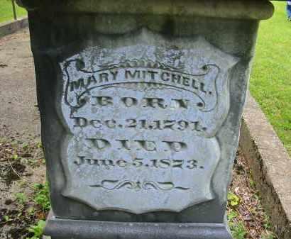 MITCHELL, MARY - Gallia County, Ohio | MARY MITCHELL - Ohio Gravestone Photos