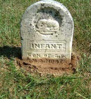 MOATS, INFANT - Gallia County, Ohio   INFANT MOATS - Ohio Gravestone Photos