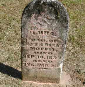 MOFFITT, LURA - Gallia County, Ohio | LURA MOFFITT - Ohio Gravestone Photos