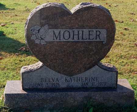 MOHLER, BELVA - Gallia County, Ohio | BELVA MOHLER - Ohio Gravestone Photos