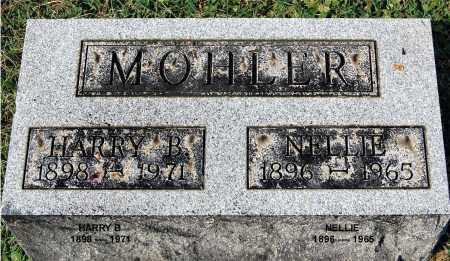 MOHLER, NELLIE - Gallia County, Ohio | NELLIE MOHLER - Ohio Gravestone Photos