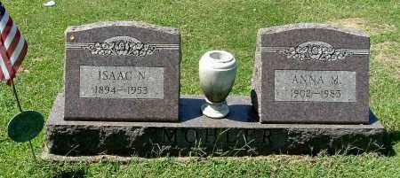 MOHLER, ISAAC N - Gallia County, Ohio   ISAAC N MOHLER - Ohio Gravestone Photos