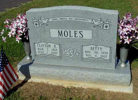 MOLES, BETTY - Gallia County, Ohio | BETTY MOLES - Ohio Gravestone Photos