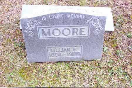 MOORE, LILLIAN E. - Gallia County, Ohio | LILLIAN E. MOORE - Ohio Gravestone Photos