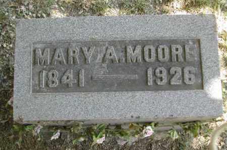 MOORE, MARY - Gallia County, Ohio   MARY MOORE - Ohio Gravestone Photos