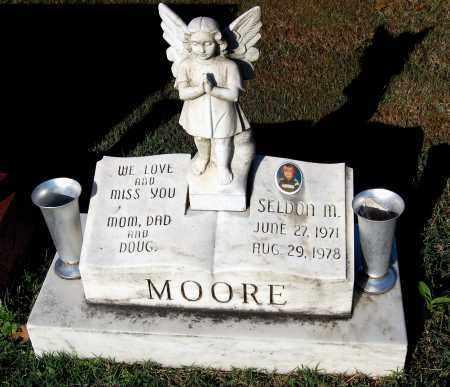 MOORE, SELDON M. - Gallia County, Ohio | SELDON M. MOORE - Ohio Gravestone Photos