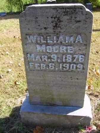 MOORE, WILLIAM - Gallia County, Ohio | WILLIAM MOORE - Ohio Gravestone Photos