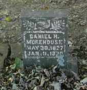 MOREHOUSE, DANIEL - Gallia County, Ohio | DANIEL MOREHOUSE - Ohio Gravestone Photos