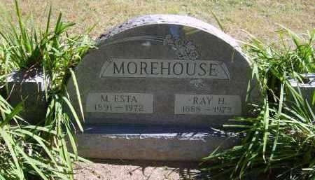 MOREHOUSE, M. - Gallia County, Ohio   M. MOREHOUSE - Ohio Gravestone Photos