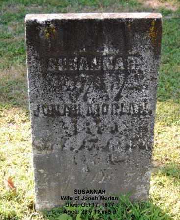 MORLAN, SUSANNAH - Gallia County, Ohio   SUSANNAH MORLAN - Ohio Gravestone Photos