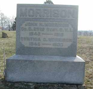 MORRISON, JOHN M. - Gallia County, Ohio | JOHN M. MORRISON - Ohio Gravestone Photos