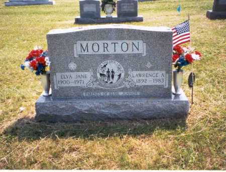 MORTON, ELVA - Gallia County, Ohio | ELVA MORTON - Ohio Gravestone Photos