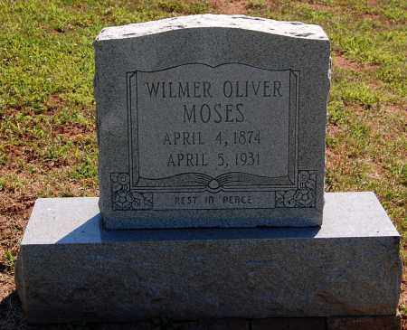 MOSES, WILMER OLIVER - Gallia County, Ohio | WILMER OLIVER MOSES - Ohio Gravestone Photos