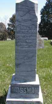 MOSSMAN, WILLIAM - Gallia County, Ohio | WILLIAM MOSSMAN - Ohio Gravestone Photos
