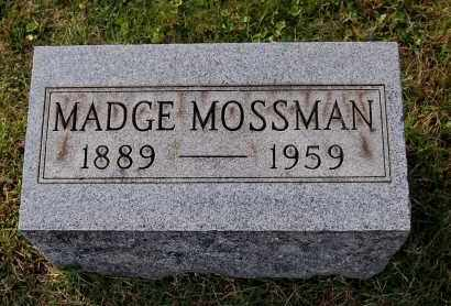 MCELHINNY MOSSMAN, MADGE - Gallia County, Ohio | MADGE MCELHINNY MOSSMAN - Ohio Gravestone Photos