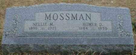 MOSSMAN, NELLIE - Gallia County, Ohio | NELLIE MOSSMAN - Ohio Gravestone Photos