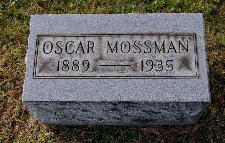 MOSSMAN, OSCAR - Gallia County, Ohio | OSCAR MOSSMAN - Ohio Gravestone Photos