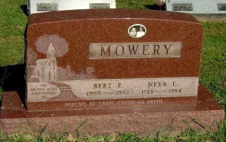 MOWERY, BERT E - Gallia County, Ohio | BERT E MOWERY - Ohio Gravestone Photos