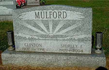 MULFORD, SHIRLEY I. - Gallia County, Ohio | SHIRLEY I. MULFORD - Ohio Gravestone Photos