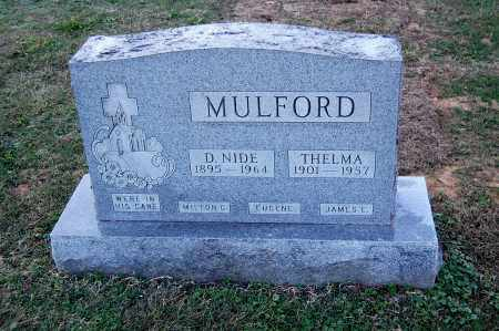 MULFORD, DEWEY NIDE - Gallia County, Ohio | DEWEY NIDE MULFORD - Ohio Gravestone Photos