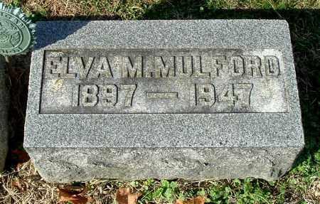 MULFORD, ELVA M. - Gallia County, Ohio | ELVA M. MULFORD - Ohio Gravestone Photos