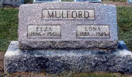 MULFORD, ELZA - Gallia County, Ohio | ELZA MULFORD - Ohio Gravestone Photos