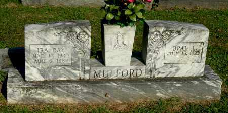 MULFORD, OPAL L - Gallia County, Ohio | OPAL L MULFORD - Ohio Gravestone Photos