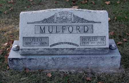 KENNEDY MULFORD, PHYLLIS MARJORIE - Gallia County, Ohio | PHYLLIS MARJORIE KENNEDY MULFORD - Ohio Gravestone Photos