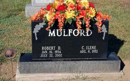 MULFORD, ROBERT D - Gallia County, Ohio | ROBERT D MULFORD - Ohio Gravestone Photos