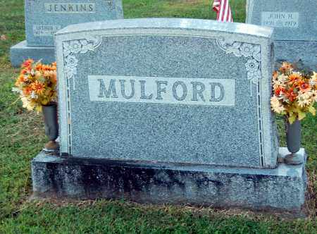 MULFORD, WENDELL CURTIS (HEADSTONE) - Gallia County, Ohio | WENDELL CURTIS (HEADSTONE) MULFORD - Ohio Gravestone Photos