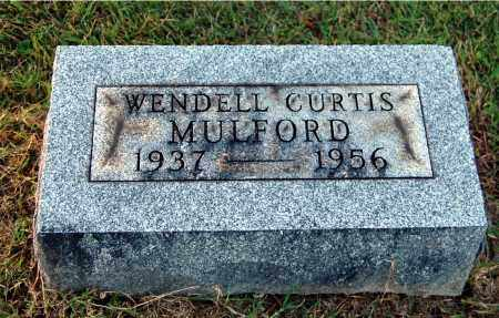 MULFORD, WENDELL CURTIS - Gallia County, Ohio | WENDELL CURTIS MULFORD - Ohio Gravestone Photos