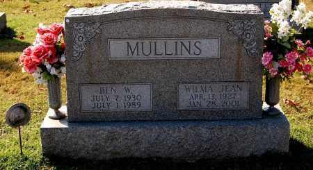 MULLINS, WILMA - Gallia County, Ohio | WILMA MULLINS - Ohio Gravestone Photos
