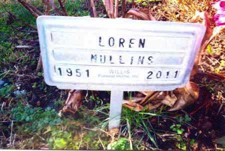 MULLINS, LOREN - Gallia County, Ohio | LOREN MULLINS - Ohio Gravestone Photos