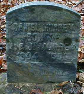 MURREY, DANIEL - Gallia County, Ohio | DANIEL MURREY - Ohio Gravestone Photos