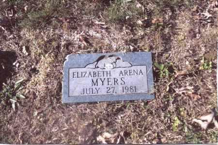 MYERS, ELIZABETH ARENA - Gallia County, Ohio | ELIZABETH ARENA MYERS - Ohio Gravestone Photos