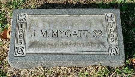 MYGATT, JOHN MARTIN SR - Gallia County, Ohio   JOHN MARTIN SR MYGATT - Ohio Gravestone Photos